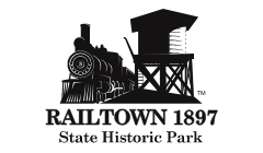 Railtown 1897 State Park Logo